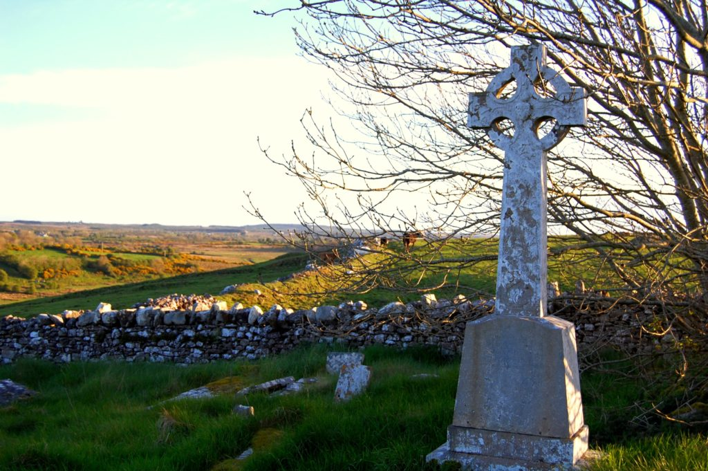 Kiltullagh graveyard co Roscommon
